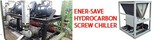 ENERSAVE HYDROCARBON SCREW CHILLER